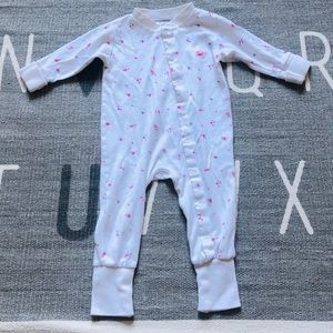 Livly prima cotton girl onesie with flowers